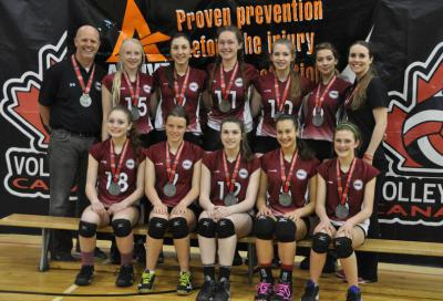 MVC 15U BLACK EASTERN NATIONAL CHAMPIONSHIP SILVER MEDALLISTS - DIV 1 TIER 2