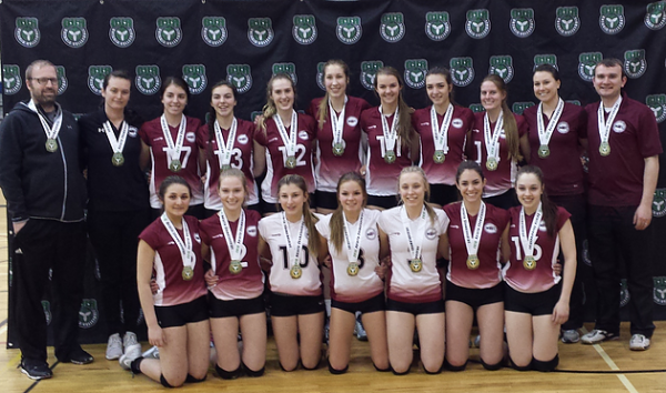 GOLD at 18U Provincials for MVC 17U