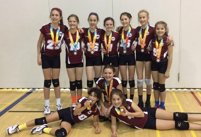 Bronze for 12U Playing up at 13U at the Provincial Cup