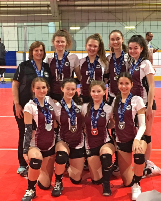 MVC 15U Columbia Silver Medalists  at 16U Challenge Cup