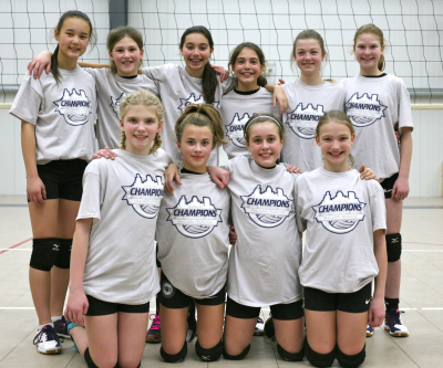 12U Whitecaps Gold Medalists at Snowflake Showdown